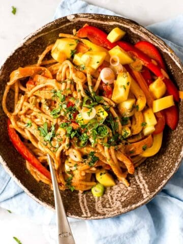 20 minute Chinese noodles using Aldi ingredients.