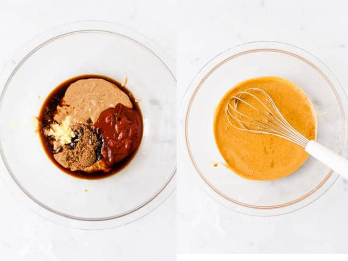 Step By Step of peanut sauce for Chinese Noodles