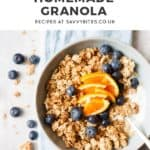 cluster granola with text overaly