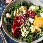 kale salad with blood oranges all Aldi ingredients
