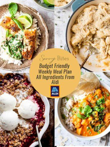 A budget friendly Aldi Meal plan