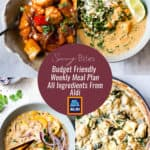 Collection of images for Aldi Meal Plan