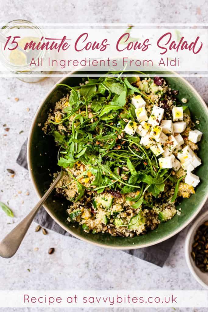 15 minute couscous salad