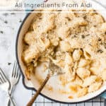 Ultra creamy mac and cheese with aldi ingredients
