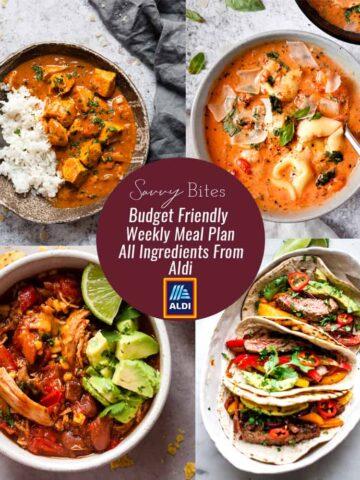 Aldi meal plan shopping list