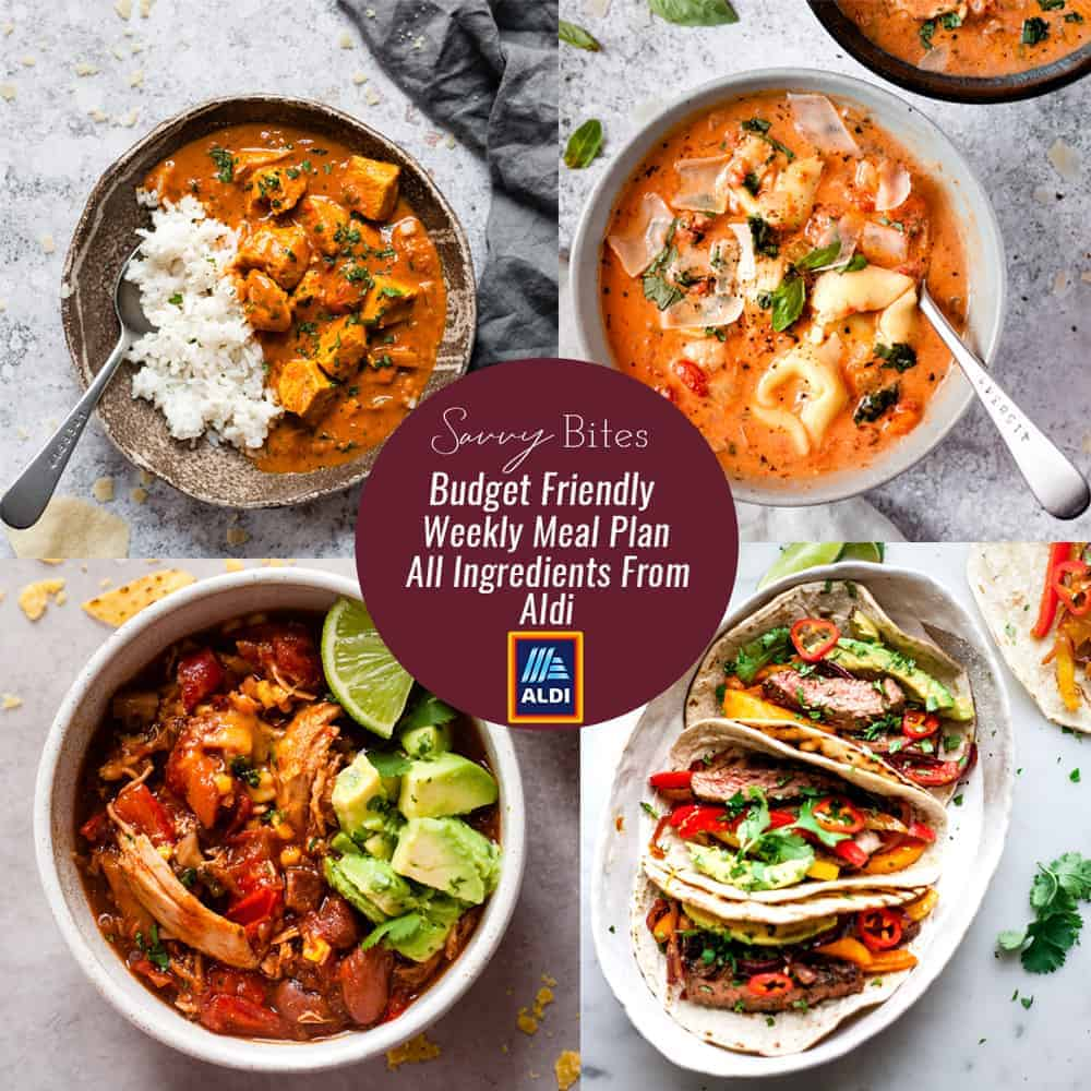 Aldi meal plan shopping list