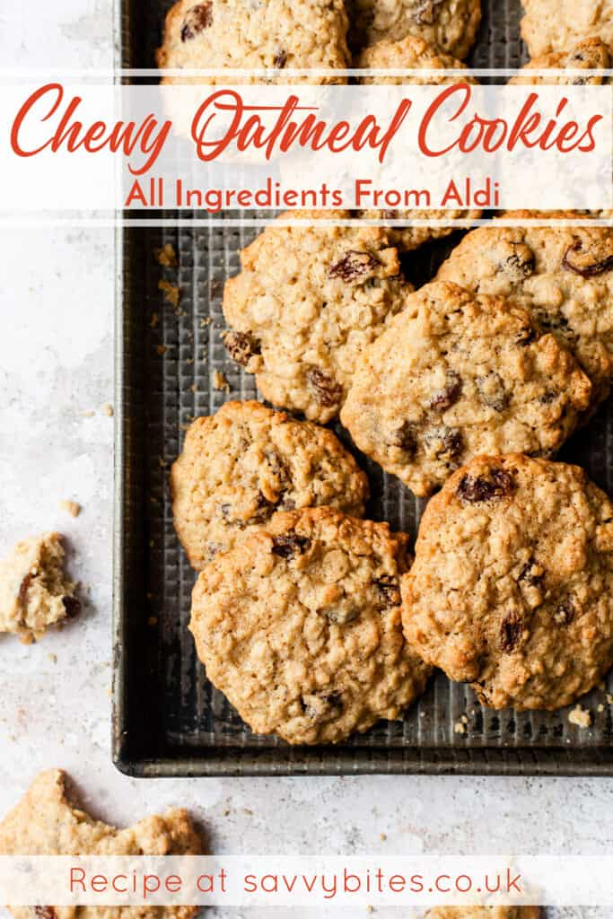 Aldi recipe oat and raisin cookies