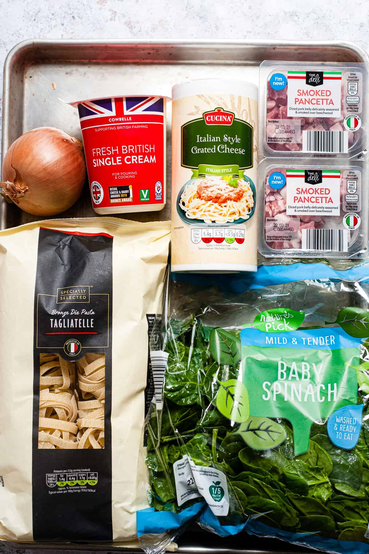 Aldi ingredients for Tuscan roasted tomato pasta sauce