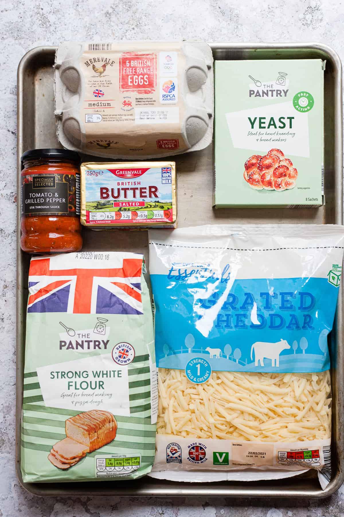 Aldi ingredients for cheddar rolls
