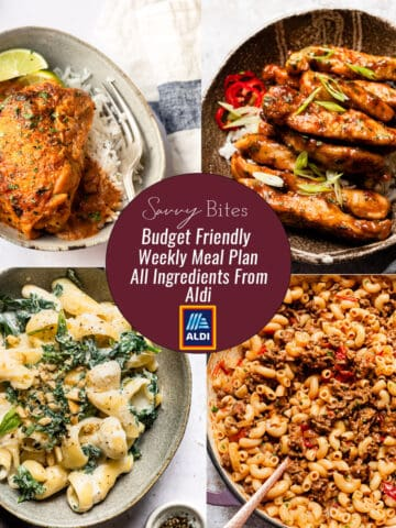 photos of Aldi meal plan recipes