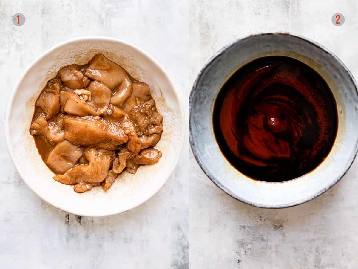 Chinese chicken marinade and honey chilli sauce for chicken. Aldi chicken recipes