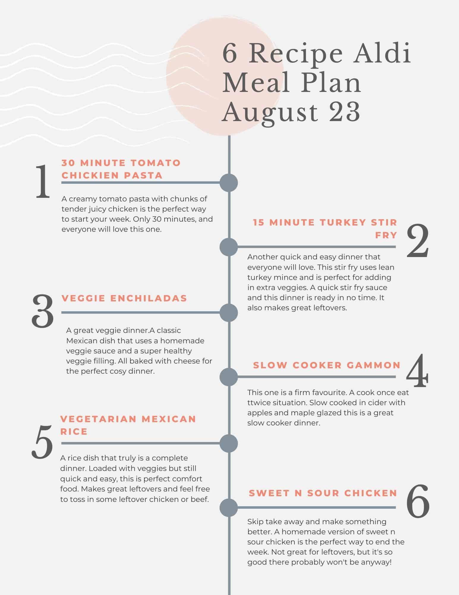 Aldi meal plan